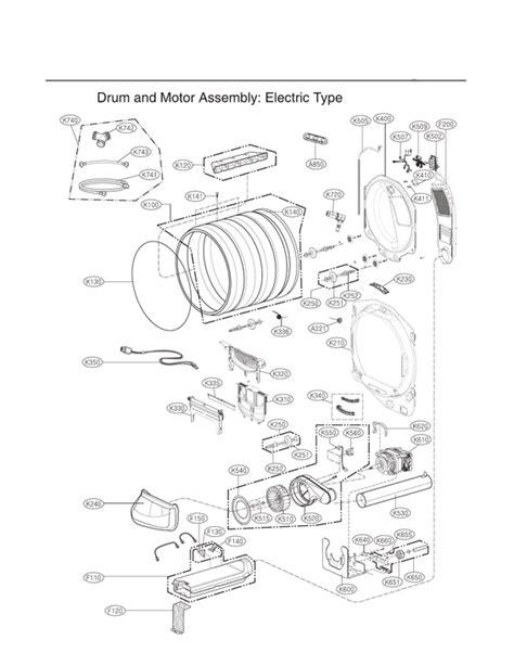 lg dlexve dryer parts sears partsdirect
