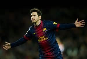 FC Barcelona Messi 2013