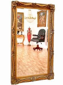 Miroir Baroque Doré : miroir baroque dor 138x78 cm meuble de style ~ Teatrodelosmanantiales.com Idées de Décoration