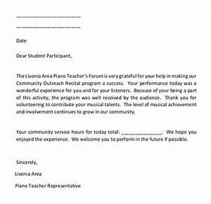 Cover Letter Non Profit Sample 22 Community Service Letters To Download For Free