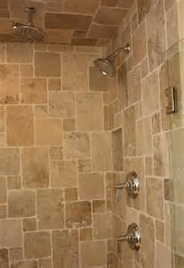 Bathroom Travertine Tile Shower