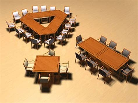 conference table office furniture 3ds 3d studio max