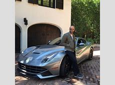 Jason Statham's Furious Ferrari F12 Berlinetta Celebrity
