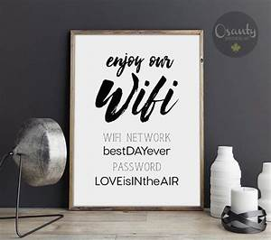 1000 ideas about wifi password printable on pinterest With wedding website password ideas