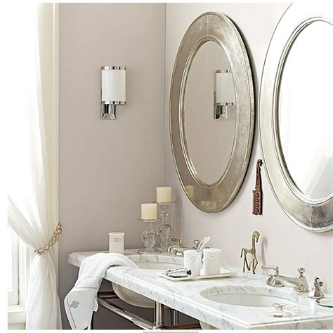 Oval Vanity Mirrors For Bathroom by Oval Mirrors For Bathroom Silver Oval Mirrors Bathroom