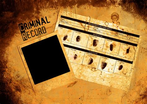 criminal background governing records and background checks