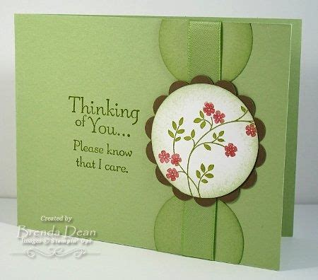 Thoughts and Prayers Stampin Up Sympathy Card