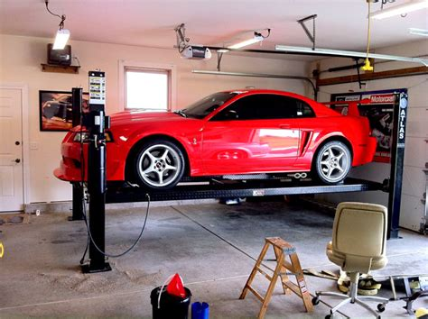 car lifts for home garage 4 post lift for garage shed chicago by greg smith 34967