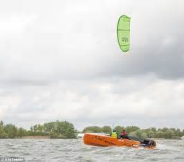 Sailing Boat With Kite by Kitetender Is A New Bizarre Craft That Blends Kitesurfing