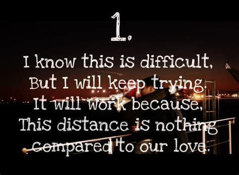 cute love quotes  long distance relationships