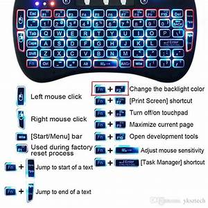 Rii I8 Mini 2 4 Ghz Backlit Wireless Keyboard And Mouse