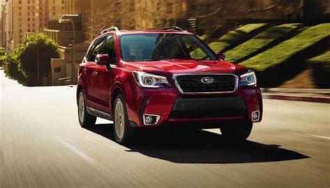 subaru forester 2018 red new subaru ascent takes spotlight aging forester is red