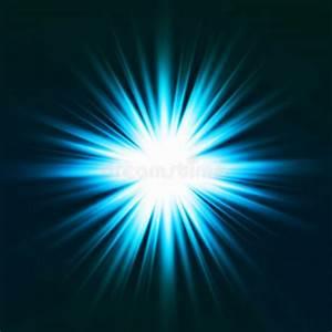Light Flare Blue Effect. Vector Stock Vector ...