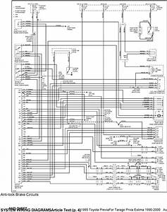 Toyota Previa Electrical Wiring Diagrams
