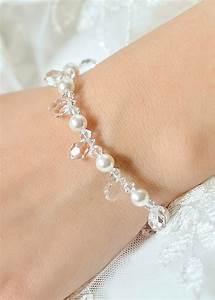 bespoke wedding bracelet gouttes perles princesse d39un jour With bracelet mariage