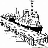 Coloring Pier Boat Ship Cruise Near Disney Printable Drawings Coloringpages101 Structures Getdrawings Titanic Getcolorings 01kb 651px sketch template