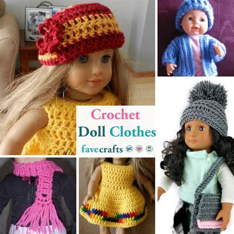 crochet doll clothes patterns favecraftscom