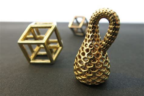 3 Dimensional Prints by 3d Print Mathematical Objects Escher S Dreams 3d Printed