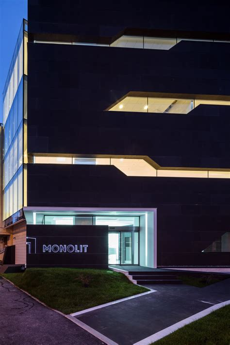 Monolit Office Building  Igloo Architecture Archdaily