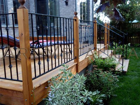 Iron Deck Railing Systems, Ideas, Designs, Styles & Options