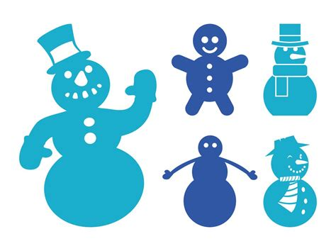 stencil of snowman new calendar template site