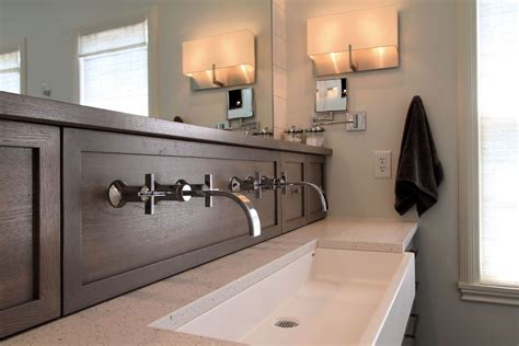 masterbath vanities room for two an home gets a new master bath