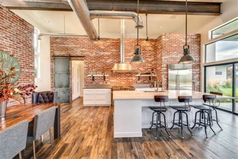 extraordinary industrial kitchen designs youll fall