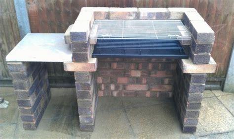 build  brick barbecue   backyard icreatived