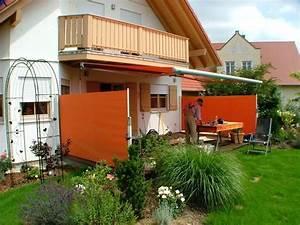 7 besten sicht windschutz terrasse bilder auf pinterest With markise balkon mit rasch tapete wallton