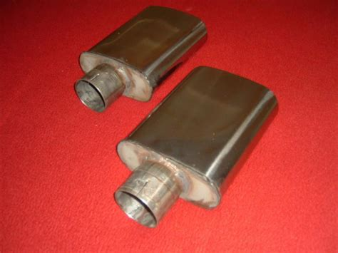 exhaust tips oval gmmg stainless steel 2040 parts