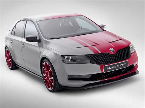 Skoda Rapid Sport Concept First Pictures