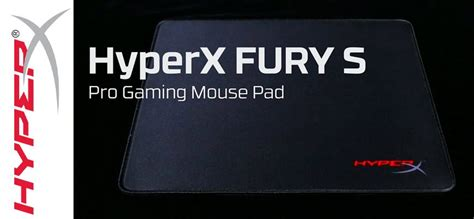 test tapis de souris gamer test hyperx fury s pro gaming tapis de souris gamer gamerstuff fr