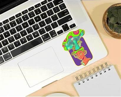 Digital Visual Doodles Behance Novel Background