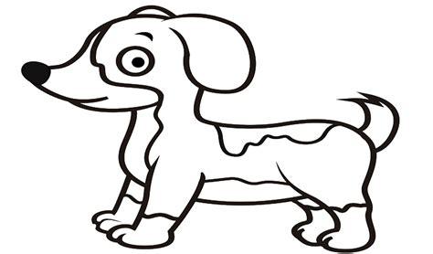mewarnai gambar hewan anjing
