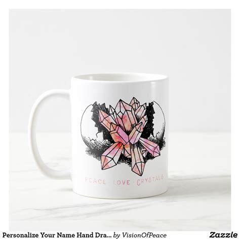 All the reflections were a bit easier to get, and fun to do. Add Name To Crystal Drawing Coffee Mug | Zazzle.com | Кофейня
