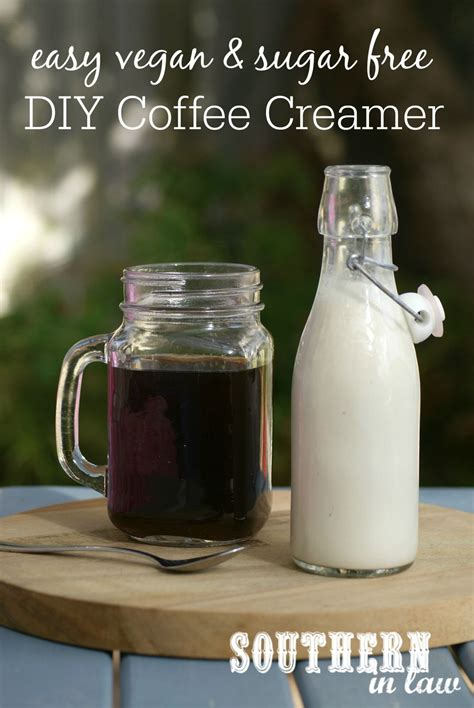 It goes great with your favorite starbucks® coffee at home or on the go with it's subtle taste and creamy texture. Recipe: Easy Vegan DIY Coffee Creamer (Or Sweet Cream!) | Dairy free coffee creamer, Vegan ...