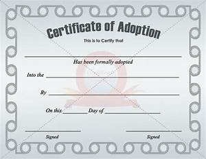 33 best certificates images on pinterest adoption With certificate of adoption template
