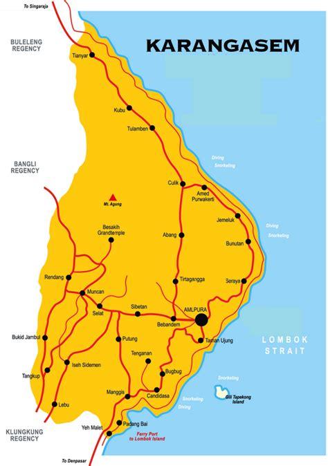takjub indonesia peta wisata kanupaten karang asem