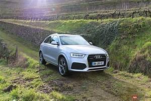Audi Q3 Restylé : essai audi q3 2 0 tdi 184 ch quattro s tronic restyle auto ~ Medecine-chirurgie-esthetiques.com Avis de Voitures