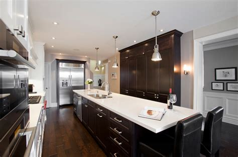 White Cabinets Dark Countertop Backsplash by 22 Beautiful Kitchen Colors With Dark Cabinets Home