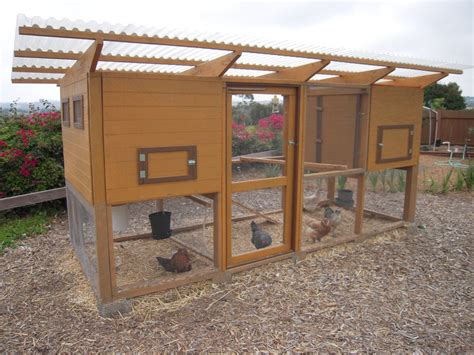"Updatefinished! New Coop From ""the Garden Coop"" Plans Pic"
