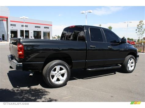 2007 Dodge Ram by 2007 Black Dodge Ram 1500 Thunder Road Cab 4x4