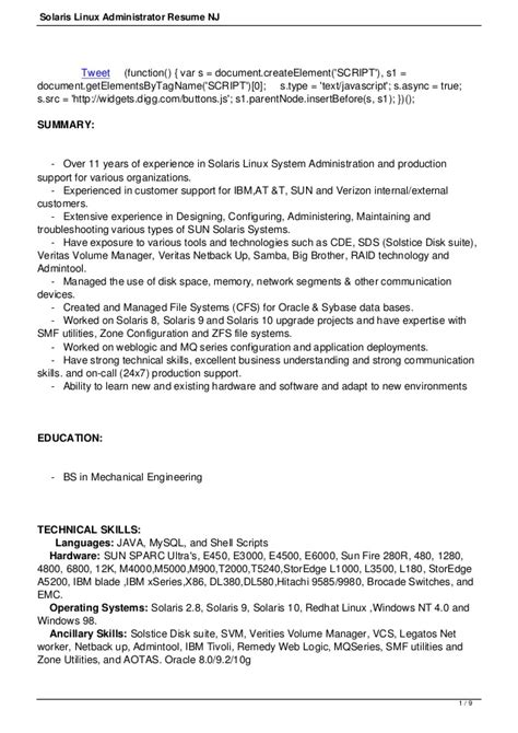 resume for linux administrator fresher resume file on iphone bestsellerbookdb