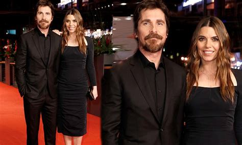 Christian Bale Joins Wife Sibi Blazic Berlin Premiere