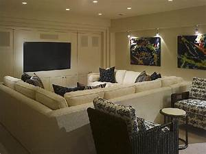 pit sectional contemporary media room alice lane home With sectional sofa for media room