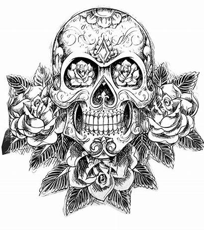 Dope Coloring Skull Worksheets Via
