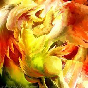 Reshiram used Fusion Flare by StephanieGrafe on DeviantArt