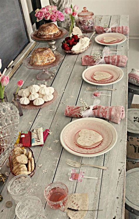 sweet shabby chic valentines day decor ideas digsdigs