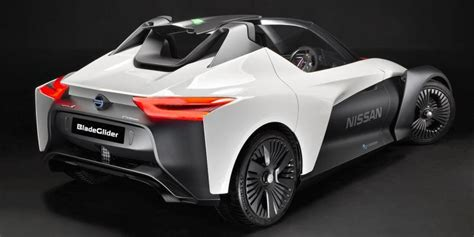 Fully Electric Sports Car by Nissan Bladeglider The Future Of Fully Electric Sports Cars