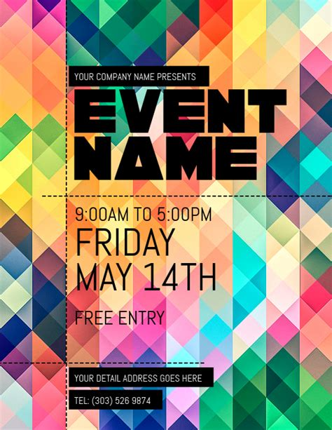 Looking for a poster design or flyer design? Event Flyer Template | PosterMyWall